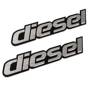 Diesel Aluminum Emblem/badge Hyundai Inifiniti Acura Audi BMW GMC Ford