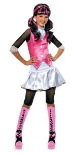 GIRLS MONSTER HIGH DRACULAURA COSTUME DRESS RU884787