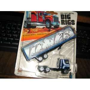 Intex Die Cast Metal Big Rig H0 Scale Model with Working