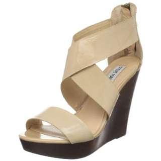 Steve Madden Womens Riddgge Platform Wedge Sandal   designer shoes