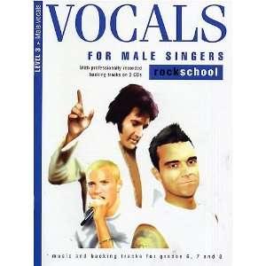 Vocals Male Singers Level 3Rockschool (Book & 2cds