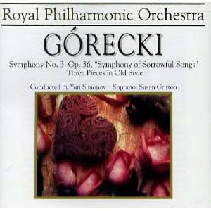 Symphony 3 / Three Pieces in Old Style Gorecki, Gritton
