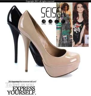 Vogue Lady Pump Platform Stiletto High Heel Women Shoes