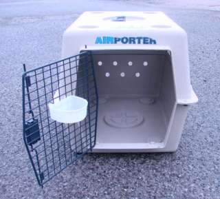 MEDIUM Air Porter Kennel Pet Dog Cat Transport Carrier Crate Cage