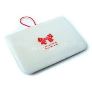 White Bow knot Wallet Bank Credit Card Holder Case Sets