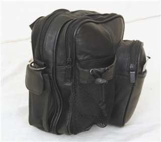 New All Leather Travel Camera Clutch Bag Handbag Purse Adjustable