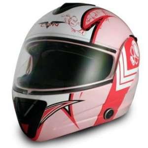 VCAN DOT Blinc Bluetooth Full Face Motorcycle Helmet (5