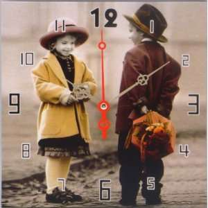 3   10¼ Inch Square Kim Anderson Boy & Girl Panels with