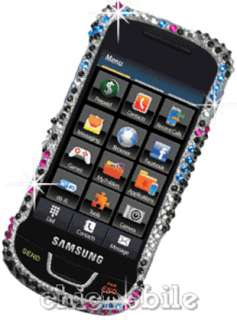 + BLING DIAMANTE BUBBLE Case Cover Straight Talk SAMSUNG T528G 528