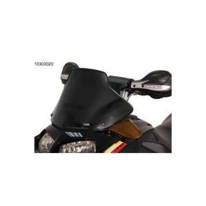 SD Rev 03 07 Fly Screen Mid Flat Black Windshield Sports