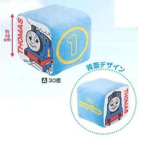 Thomas Train   5 Thomas Blue Dice Plush (Japan): Toys