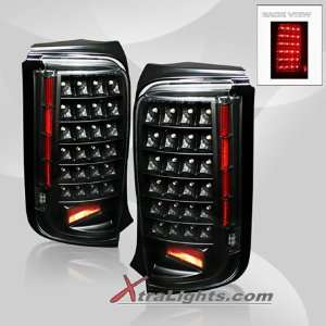 08 10 Scion xB LED Tail Lights   Black (pair) Sports