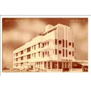 Reprint Ocean Surf Hotel, Miami Beach, Fla: Home & Kitchen