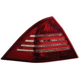 Anzo USA 221138 Mercedes Benz AMG Red/Clear Crystal Lens (No LED) Tail