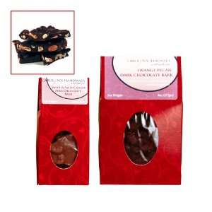 Gourmet Dark Chocolate Jalaprika Cashew Bark Red Rooft op Gift Box 3oz