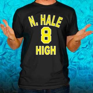 HALE HIGH SCHOOL Wiz Khalifa Snoop Dogg T Shirt Young Wild and Free