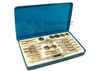 23 Piece Alloy Whitworth Tap and Die Set in M/box   NEW