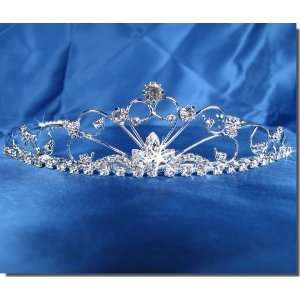 Bridal Wedding Tiara Crown With Crystal Arches 26986 Beauty