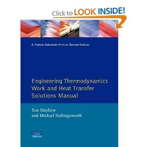 Engineering Thermodynamics Pb (9780582088467): G F C