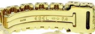 Ladies Ebel Beluga Mini 18K Gold Mother of Pearl Diamond Watch