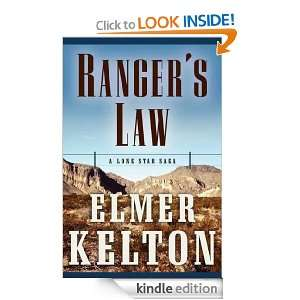 Rangers Law A Lone Star Saga (Texas Rangers) Elmer Kelton