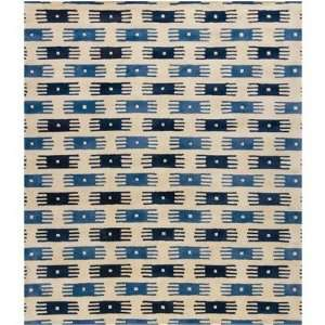 Rowe Hand Tufted Contemporary Blue Rug   ROW11134 by