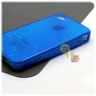 2x RESIN TPU SILICONE GEL SKIN CASE COVER iPHONE 4 4G