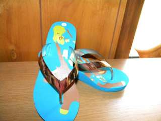 Printed Wedge Sandals or Disney Tweety Bird Flip Flops You Choose neW