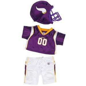Build A Bear Workshop Minnesota Vikings Uniform 3 pc. Toys & Games