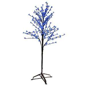 6.5 Enchanted Garden LED Lighted Cherry Blossom Flower