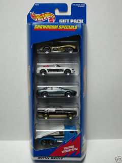 Hot Wheels Showroom Specials 5 Car Gift Pack