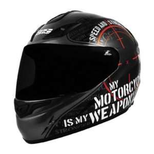 Speed & Strength SS1000 Graphics Helmet, Black My Motorcycle Is My