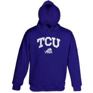 TCU Horned Frogs 2011 NCAA Team Color Embroidered Hooded