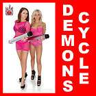 items in DEMONS CYCLE HARLEY CHOPPER WHEELS ROLLING CHASSIS MIRRORS