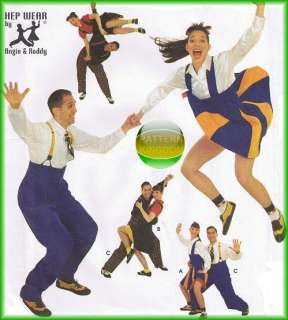 1940/50s Big Band Swing Dance Costume Patterns
