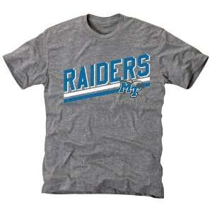 Middle Tennessee State Blue Raiders Rising Bar Tri Blend T
