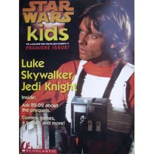 Star Wars Kids #1 Luke Skywalker, Jedi Knight (Premiere