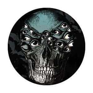 Shadows Fall Skull Button B 4102 Toys & Games