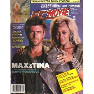 SF Movieland August, 1985   Mel Gibson/Tina Turner Cover
