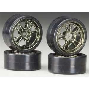 C22691GUN 10 Spoke Wheel & Tire Set Drift (4) Toys & Games