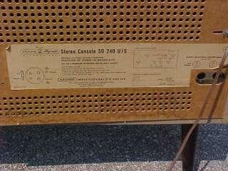 Grundig Majestic Stereo Console Model SO S0 240 U/S