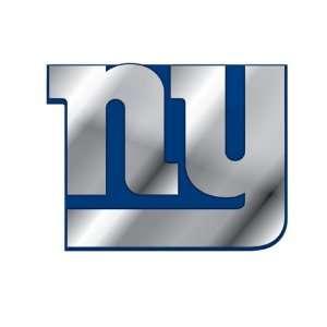 New York Giants NFL Football Team Blue & Chrome Plated Premium Metal