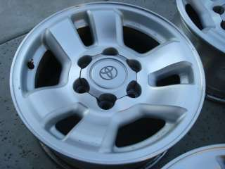 2000 01 Toyota factory genuine 4Runner Tacoma Alloy Wheel Rim 16 OEM