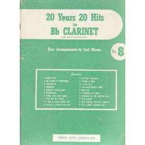 20 Years, 20 Hits for B Flat Clarinet with Piano Accompaniment No. 8