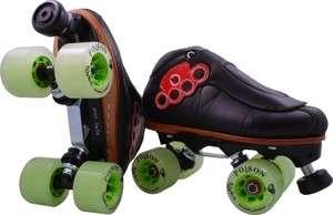 Derby Skates Vanilla Brass Knuckle 2.0 Invader Plates Atom Poison Size