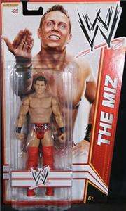 THE MIZ WWE MATTEL BASIC SERIES 17 ACTION FIGURE TOY