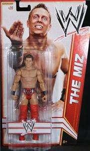THE MIZ WWE MATTEL BASIC SERIES 17 ACTION FIGURE TOY