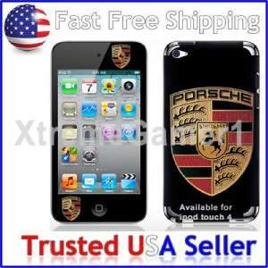 iPod Touch 4 P Black Car Decal Vinyl Sticker Skin