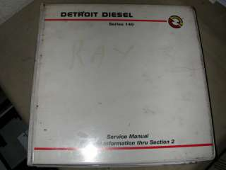 Detroit Diesel Series 149 Service Manual GI thru Sec 2