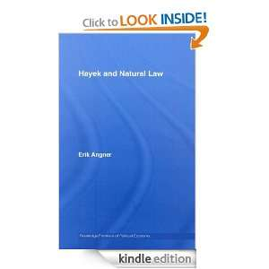 Hayek and Natural Law: Erik Angner:  Kindle Store